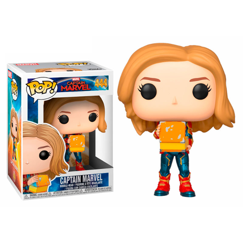 Figura POP Marvel Captain Marvel with lunch box