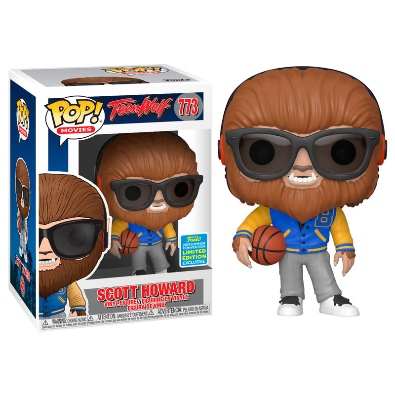 Figura POP Teen Wolf Scott Howard Exclusive SDCC