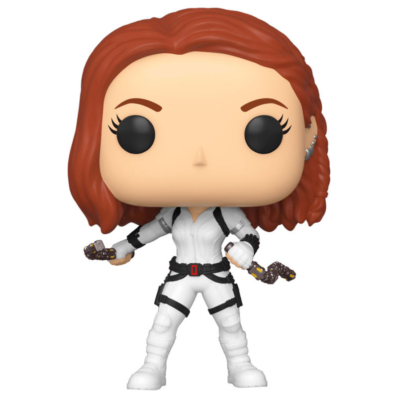 Figura POP Marvel preto Widow White Suit