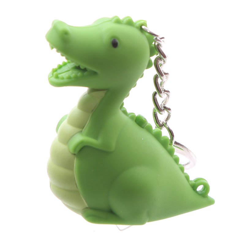porta-chaves Dinossauro com LED