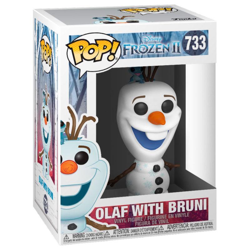 Figura POP Disney Frozen 2 Olaf with Bruni