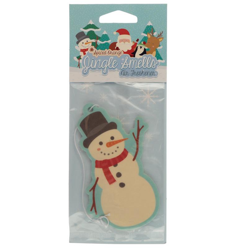 Ambientador de Canela boneco de Neve Natalício