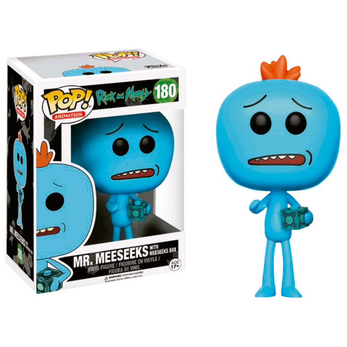 Figura POP Rick and Morty Mr Meeseeks Exclusive
