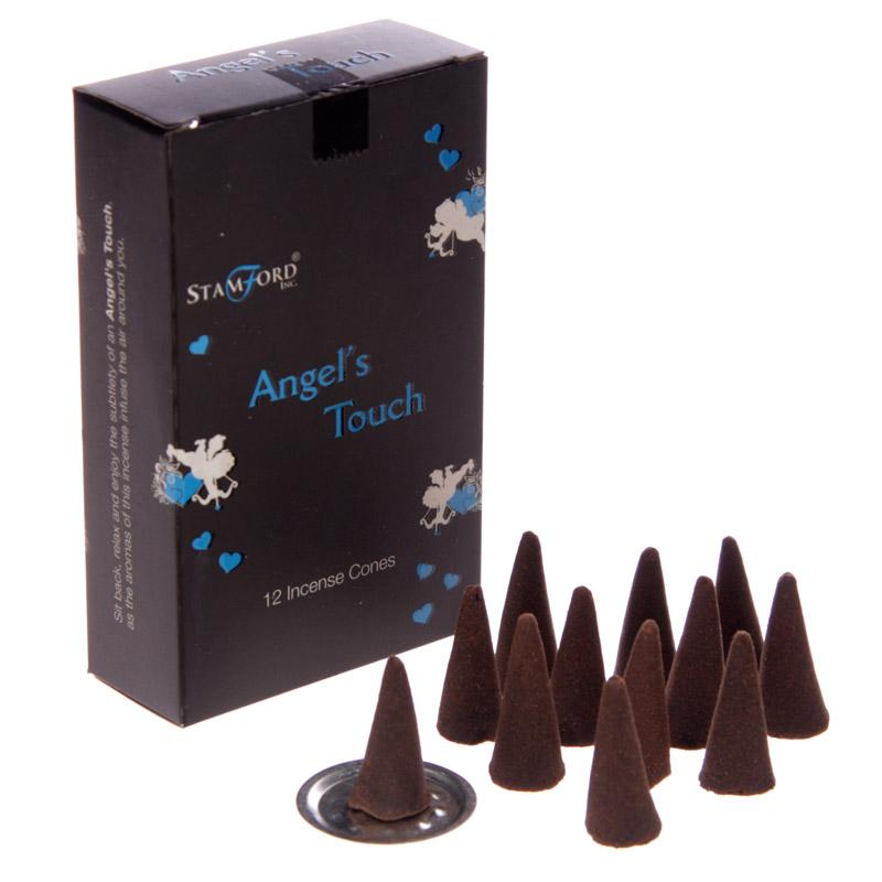 Cones de Incenso Stamford NegroTacto de Anjos
