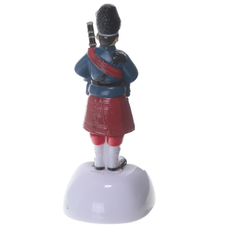 Boneco solar - Gaiteiro Escocês