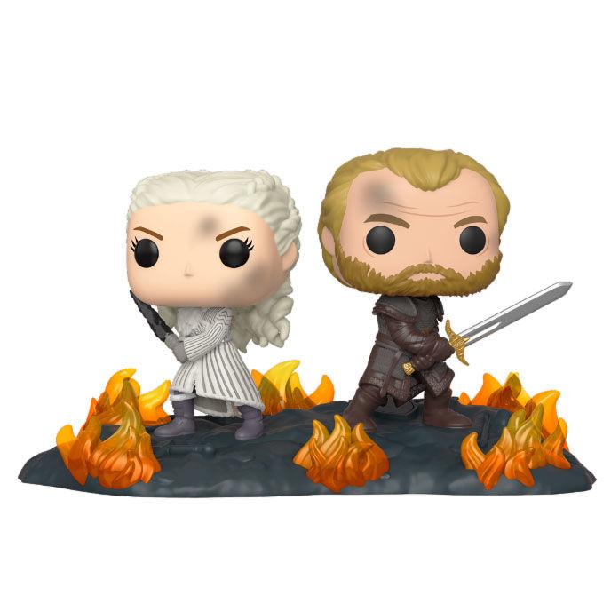 Figura POP Game of Thrones Daenerys & Jorah B2B with Swords
