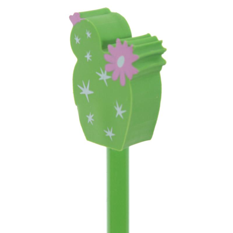 Lápis com borracha Cactus