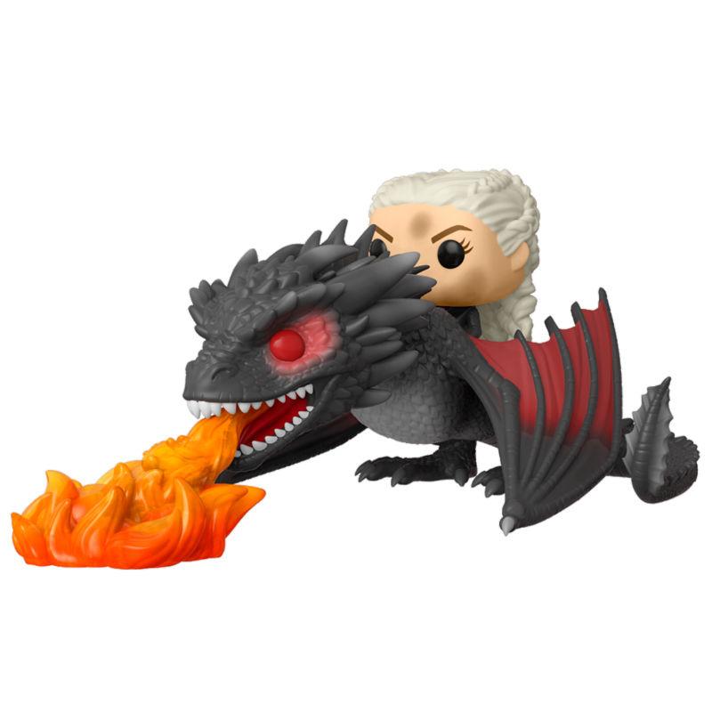 Figura POP Game of Thrones Daenerys on Fiery Drogon