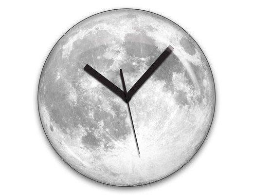 Relógio Lua (brilha no escuro)