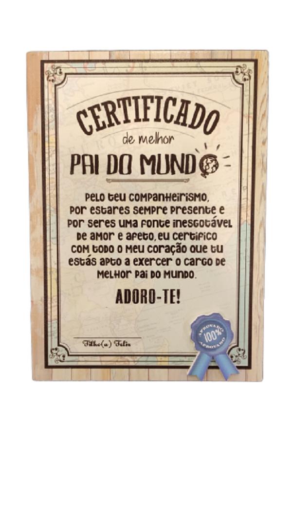 Certificado Pai