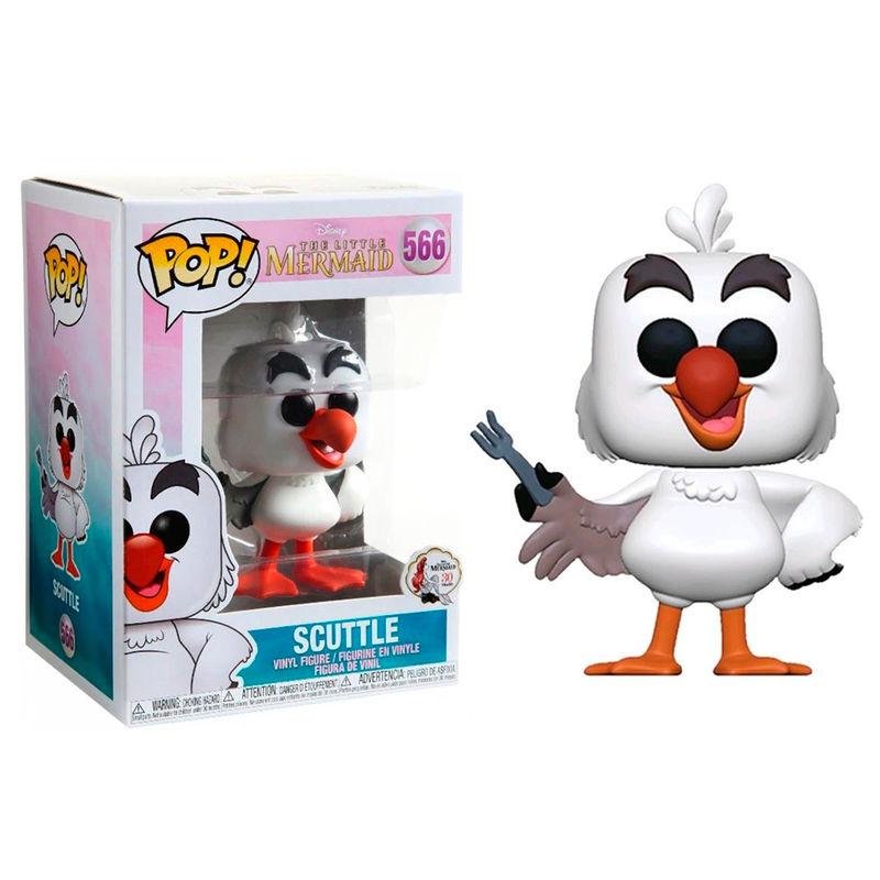 Figura POP Disney A Pequena Sereia Scuttle wtih Fork