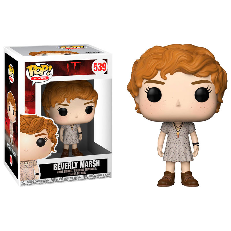 Figura POP It Beverly with Key Necklace