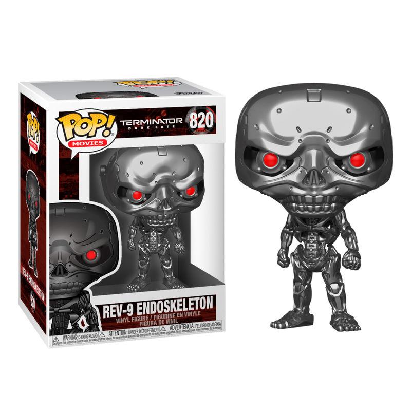 Figura POP Terminator Dark Fate Rev-9 Endoskeleton