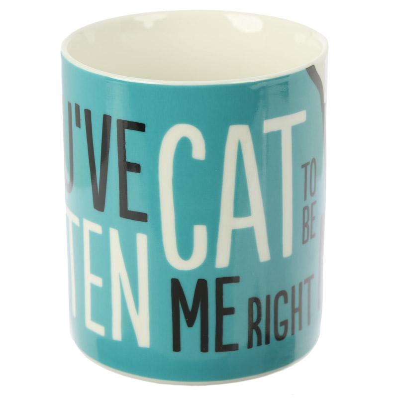 Caneca Slogan Simon's Cat