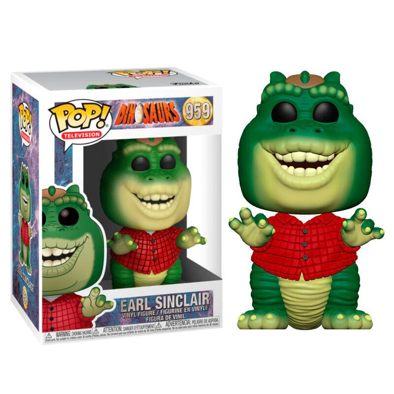 Figura POP Dinosaurs Earl Sinclair
