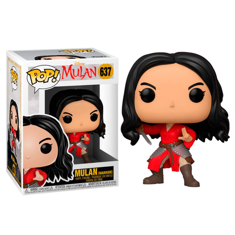 Figura POP Disney Mulan Live Warrior Mulan