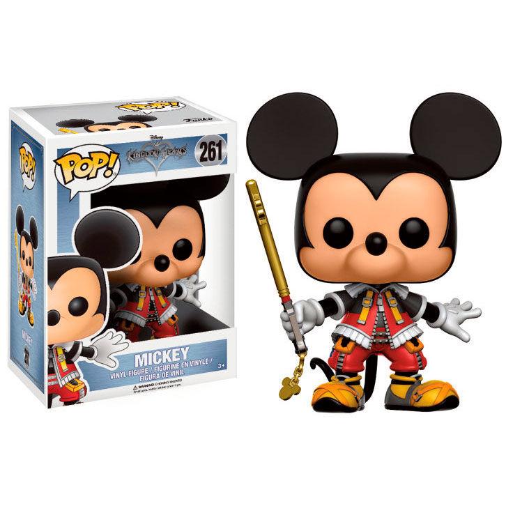 Figura POP Kingdom Hearts Corações Mickey