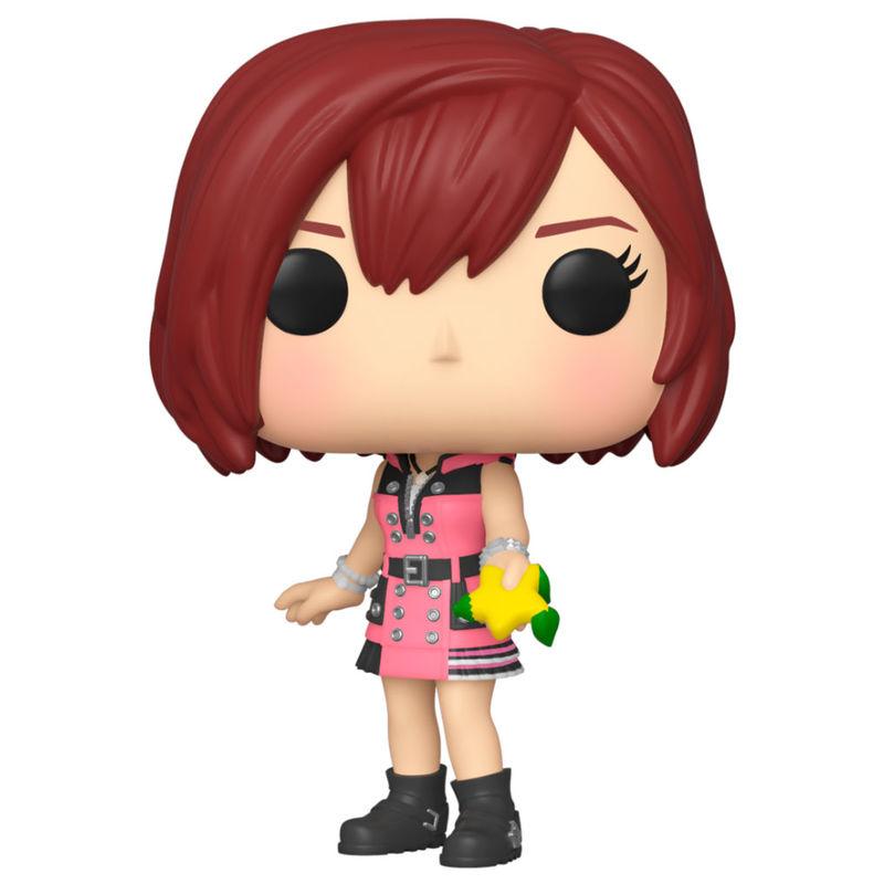 Figura POP Disney Kingdom Hearts Corações 3 Kairi with Hood