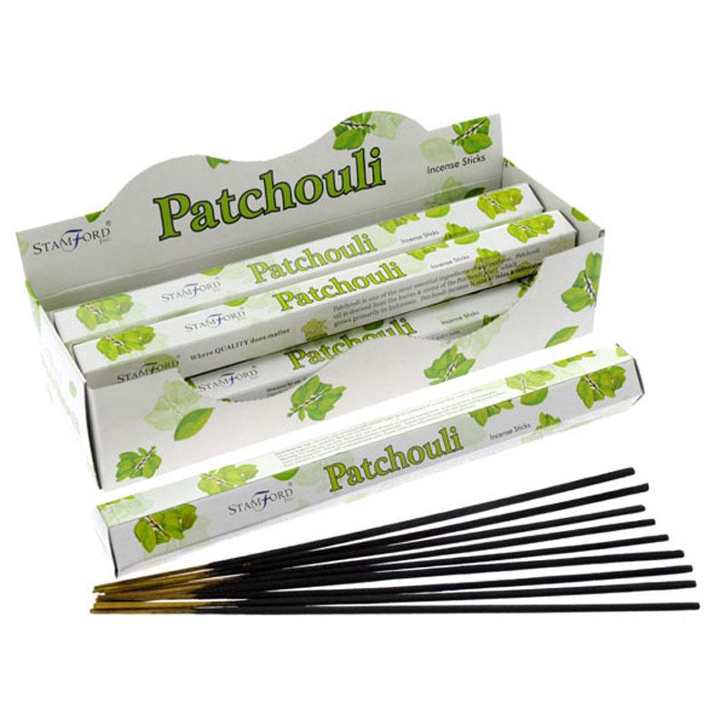 Varas incenso Stamford Premium Hex - Pachuli