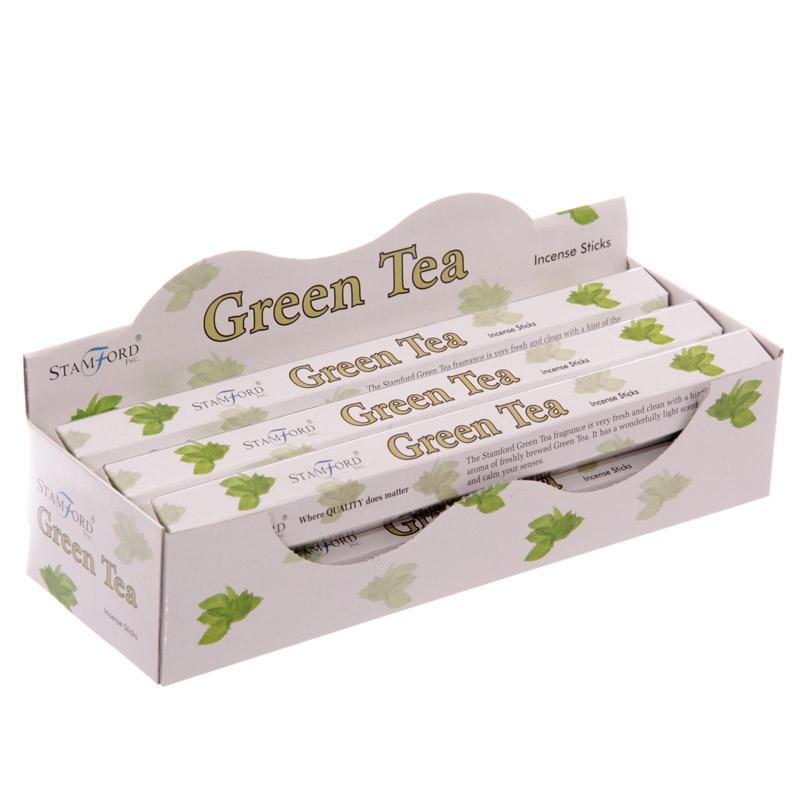 37143 Paus de Incenso Stamford Premium - Chá Verde