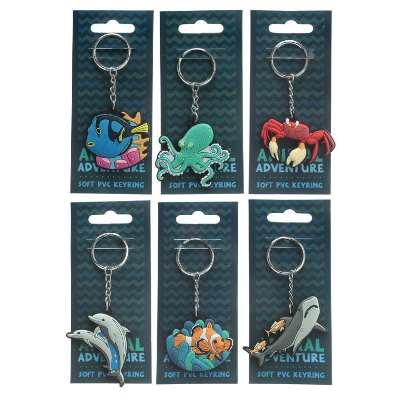 Porta-chaves aventuras de Animais marinhos