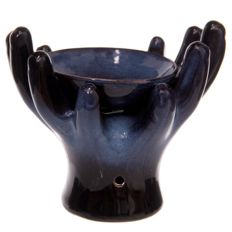 Queimador de óleo Cerâmica, mãos abertas