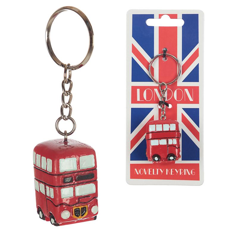 Porta-chaves Autocarro de Londres
