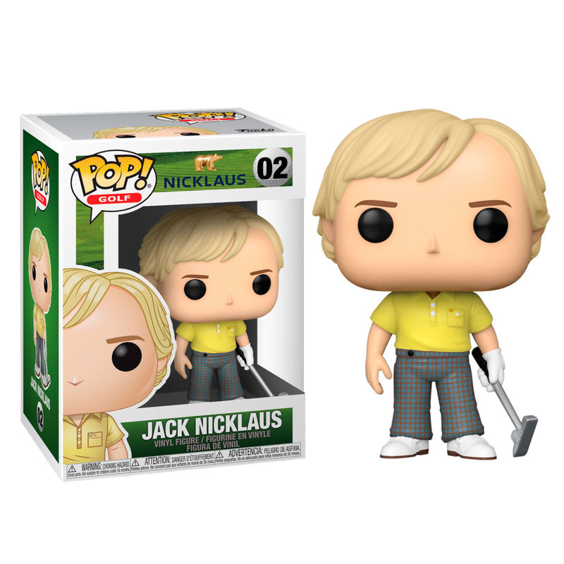 Figura POP Golf Jack Nicklaus