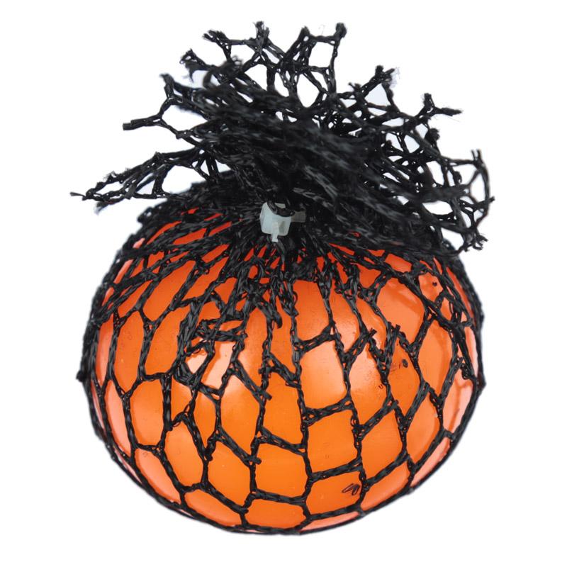 Bola de apertar em rede