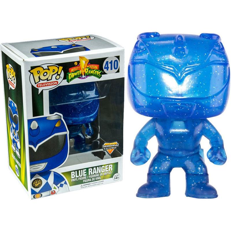Figura POP Power Rangers Azul Ranger Morphing Exclusive