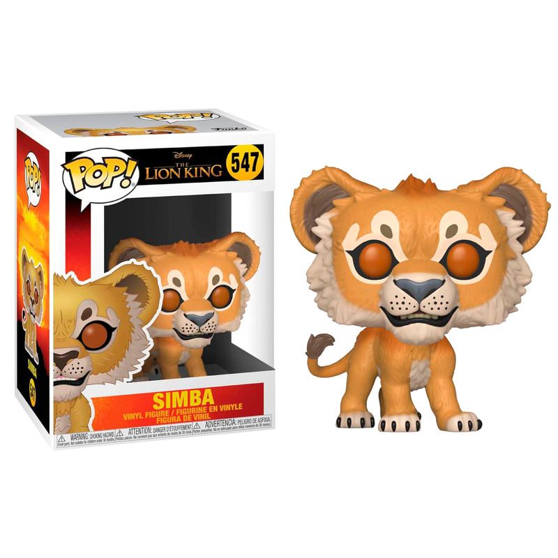 Figura POP Disney O Rei Leão Simba