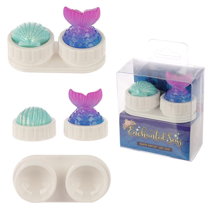 Caixa para lentes de contato - Sereia dos Mares Encantados