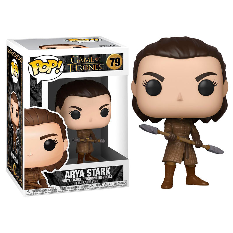 Figura POP Game of Thrones Arya with Two Headed Spear