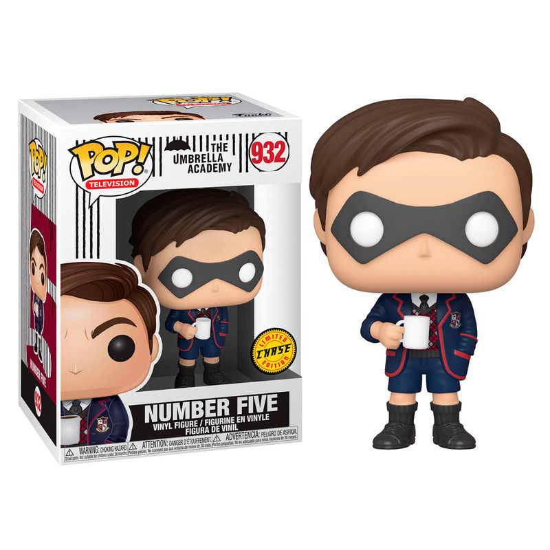 Figura POP Umbrella Academy Number Five Chase