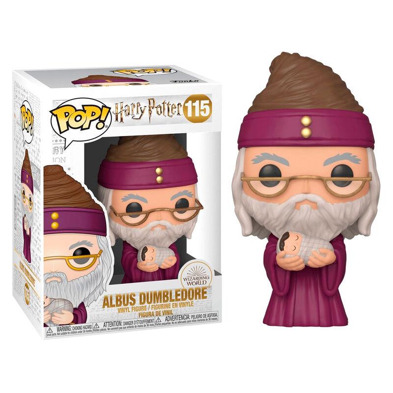 Figura POP Harry Potter Dumbledore with Baby Harry