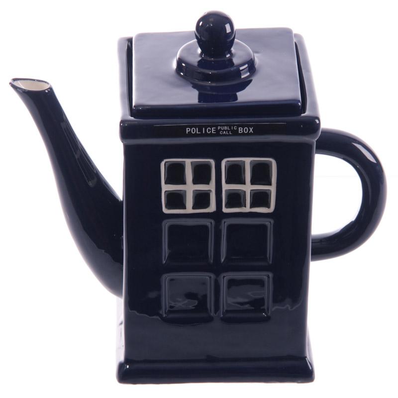 Bule de Chá Cabine de Policia