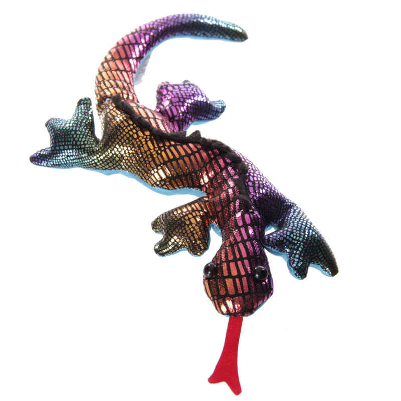 Salamandra enchida com areia, pequena