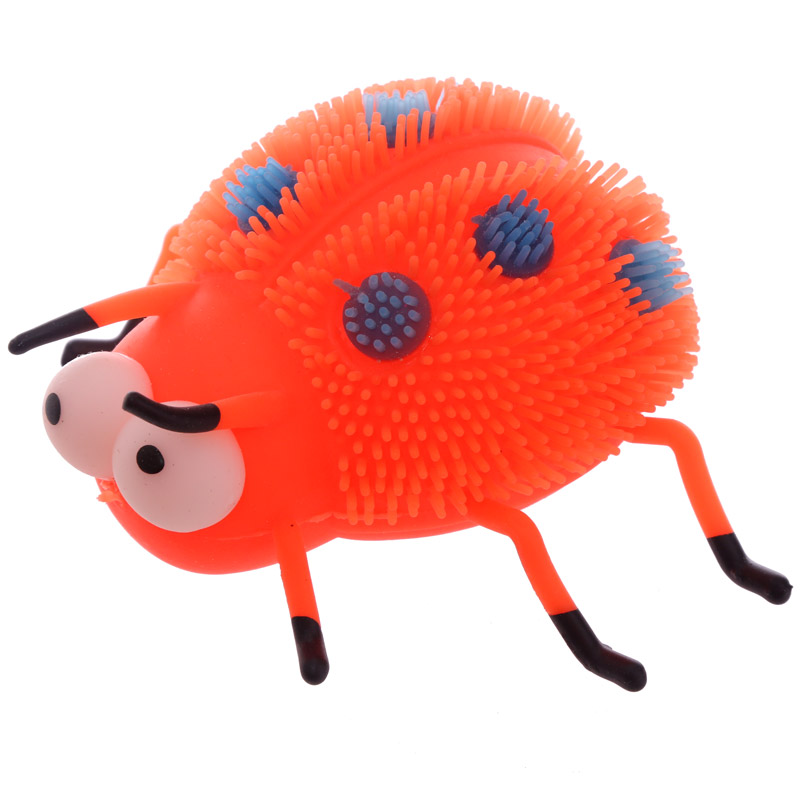 Fun Kids Light Up Squidgy Ladybird Puff Pet