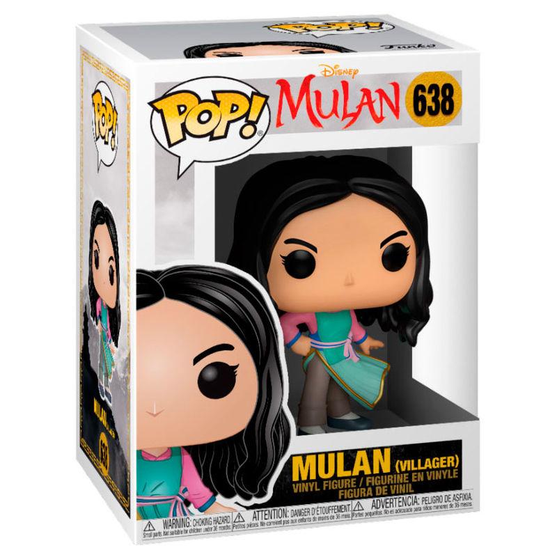 Figura POP Disney Mulan Live Villager Mulan