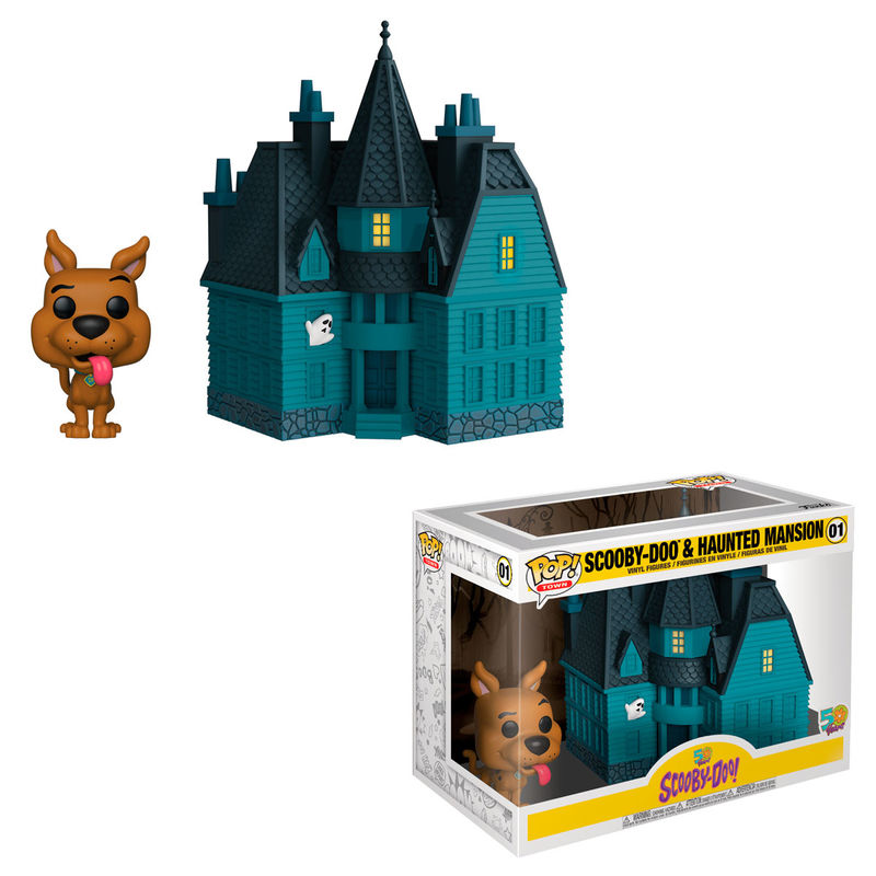 Figura POP Town Scooby Doo Haunted Mansion