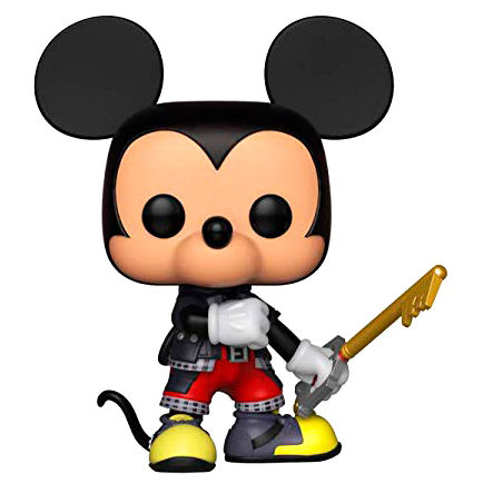 Figura POP Disney Kingdom Hearts Corações 3 Mickey