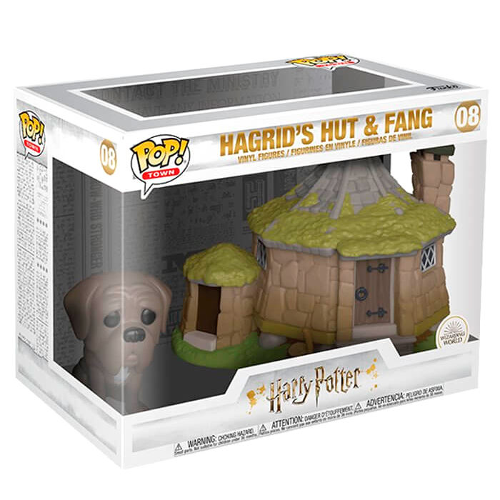 Figura POP Harry Potter Hagrid's Hut with Fang