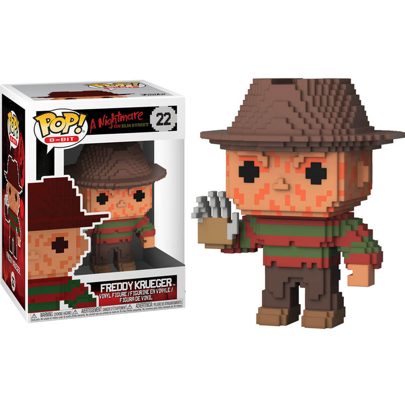 Figura POP 8-Bit Horror Freddy Krueger
