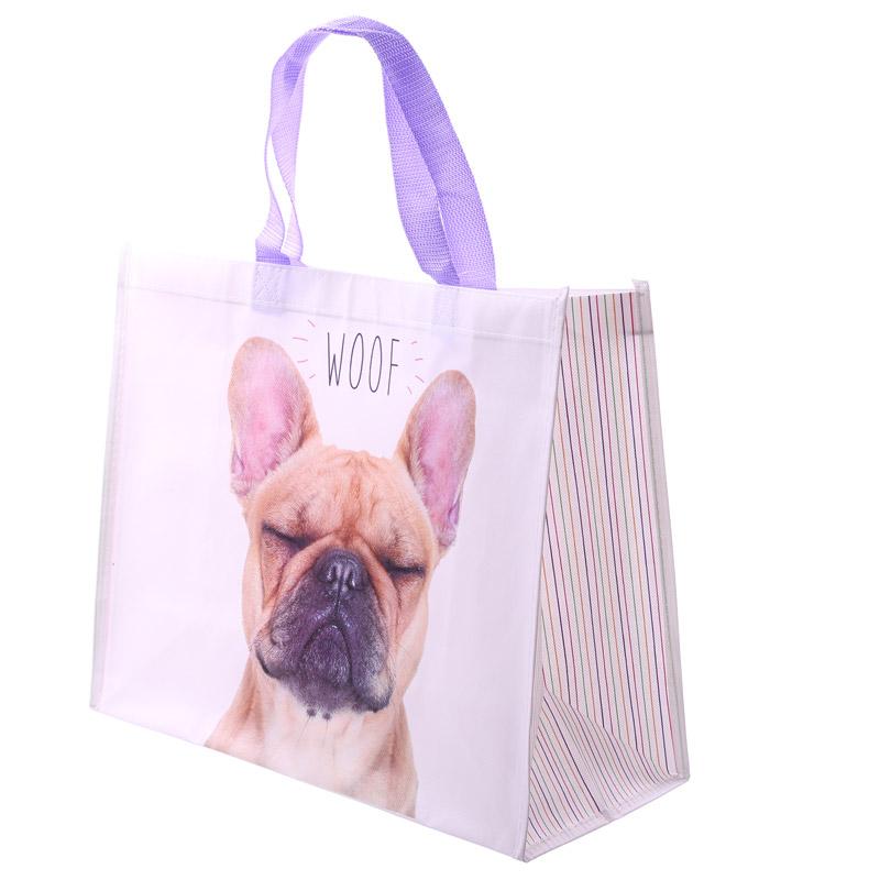 Saco de compras - Câo Bulldog Francês