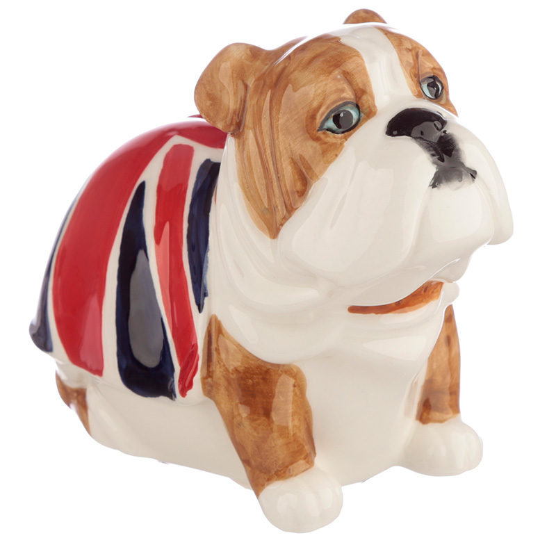 Mealheiro Bulldog Union Jack