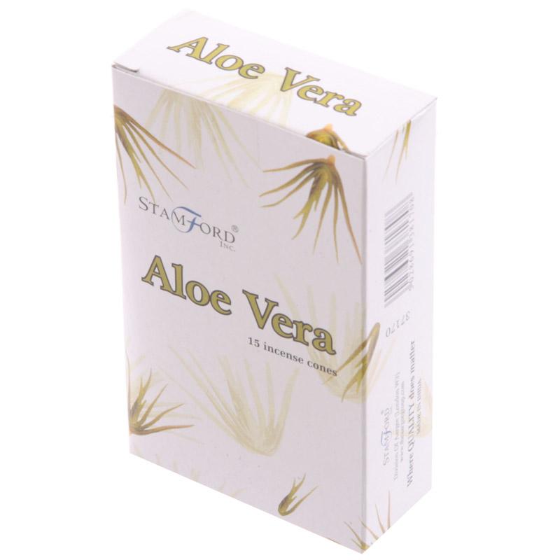 Cones de Incenso Stanford- Aloe Vera