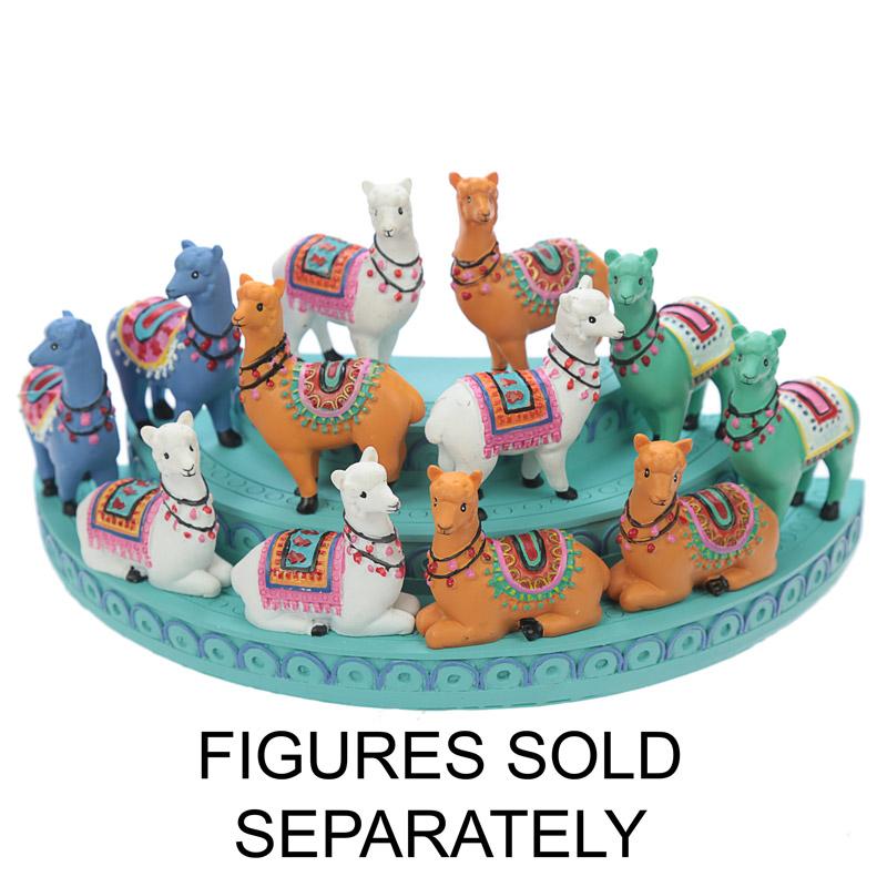 Base exposição para Figuras em forma Alpaca