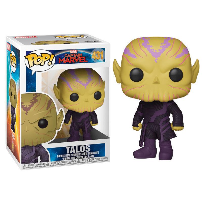 Figura POP Marvel Captain Marvel Talos