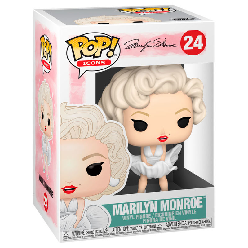 Figura POP Marilyn Monroe White Dress