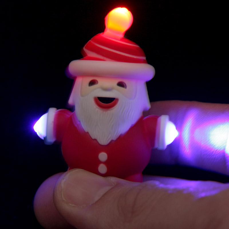 Porta-chaves Natalício com LED e Som